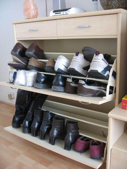 40 armoire chaussures. Black Bedroom Furniture Sets. Home Design Ideas